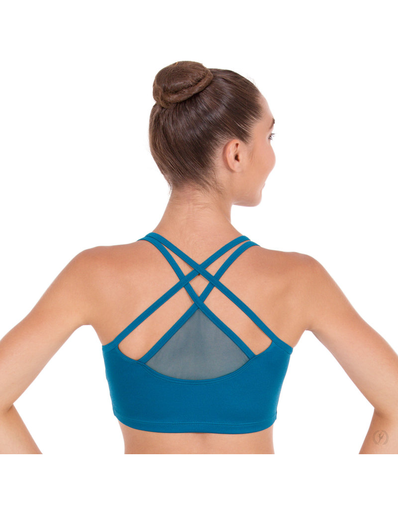 Eurotard 59891 Strappy Sports Bra with Mesh Back Detail