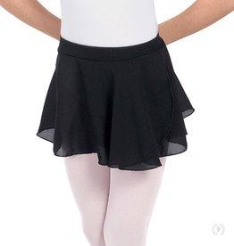 Eurotard 10127 Chiffon Mock Wrap Pull On Skirt