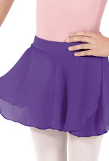 Eurotard 10127 Chiffon Mock Wrap Pull On Skirt