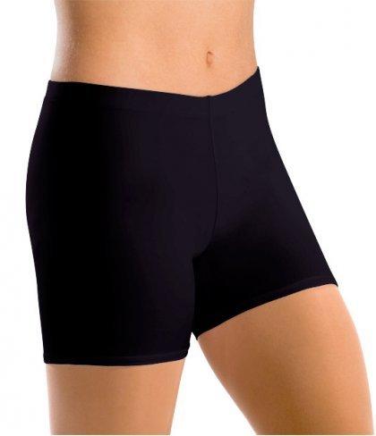 Motionwear 7084 Lower Rise Bike Shorts 497 BLK Silkskyn LA