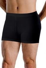 Motionwear 7199 Mens Elastic Waist Shorts 497 BLK Silkskyn LA