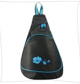 Sansha SBAG06-05 Black Aqua Triangle backpack
