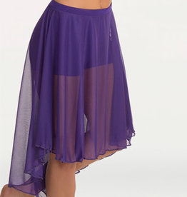 Body Wrappers BW9101 Knee Length Chiffon Skirt