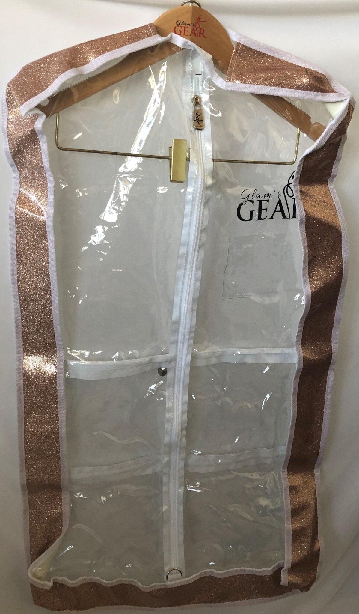 "Glam'r Gear Glam'r Gear Garment Bag, 2"" Gusset, 24"" Long"