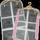 Glam'r Gear Glam'r Gear Garment Bag, No Gusset, Transparent