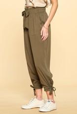 Oddi IP13285 Solid Woven Trousers
