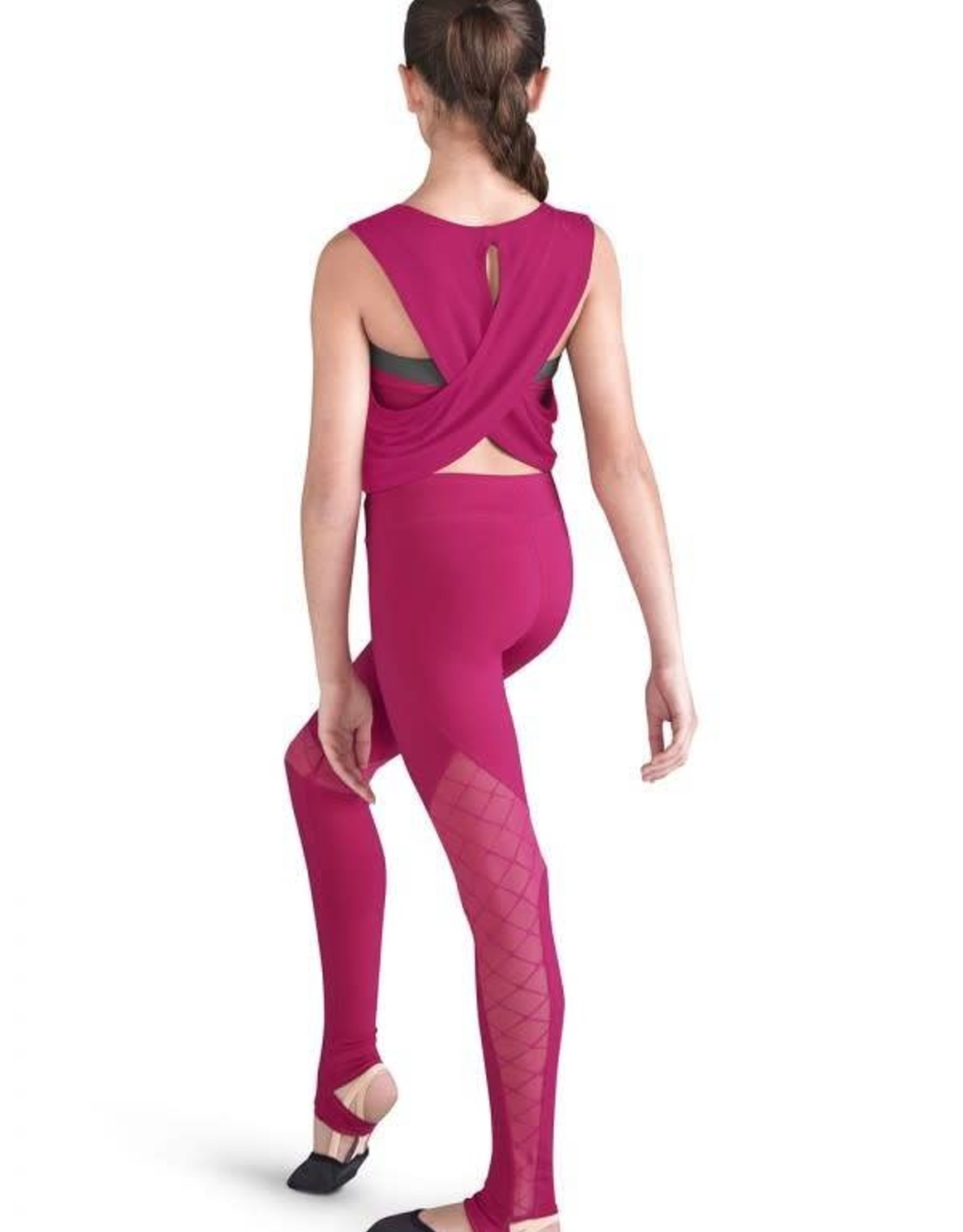 Bloch FT5079C Cropped Tank Top