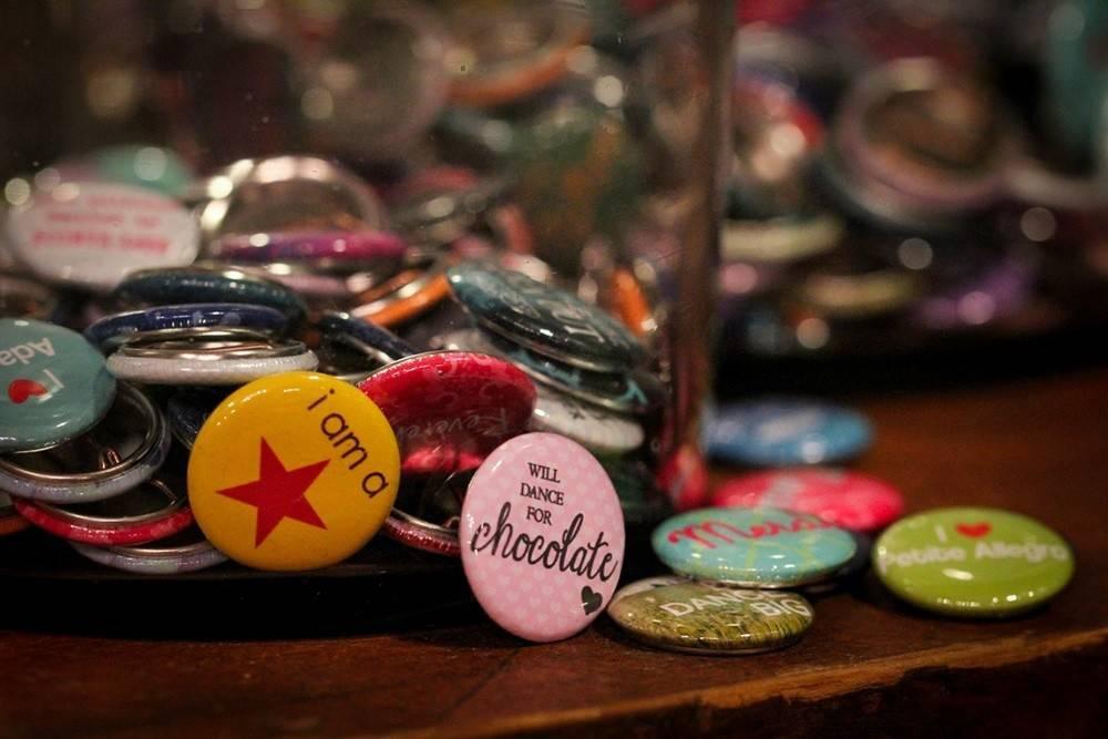 """B+ Printworks 100CC21 1"""" Button - I Love Grande Allegro"""