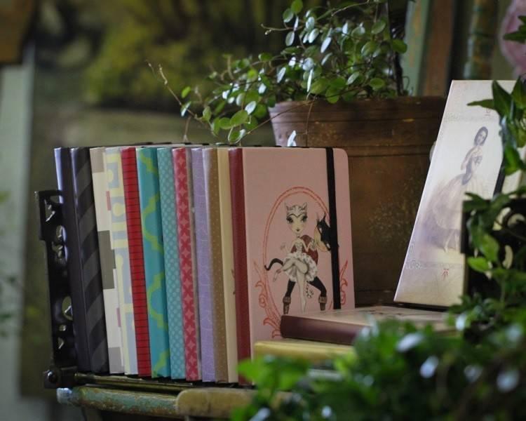 B+ Printworks 304BP01 Mini Journal - Odile (Green)