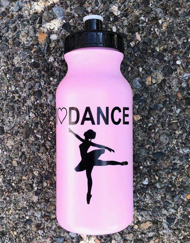 CJ Merchantile G198 I love Dance Bottle