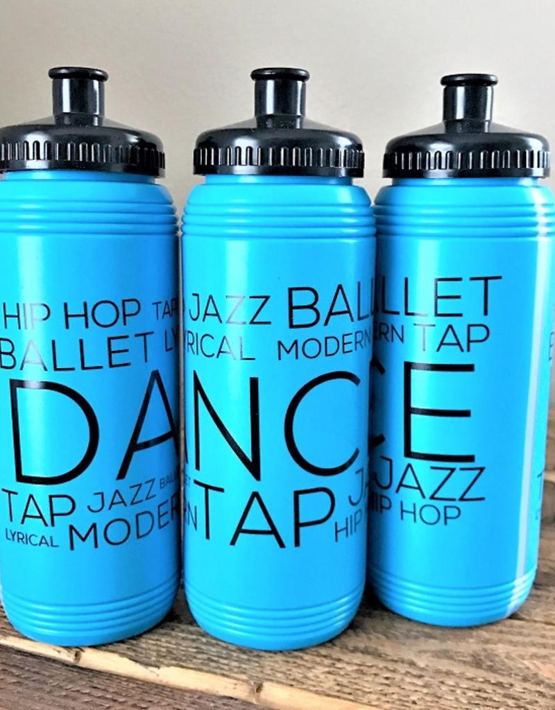 CJ Merchantile G321 Turquoise Dance Style Bottle