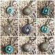 Luna Moth Market LMMHJ001 Healing Symbol Necklace
