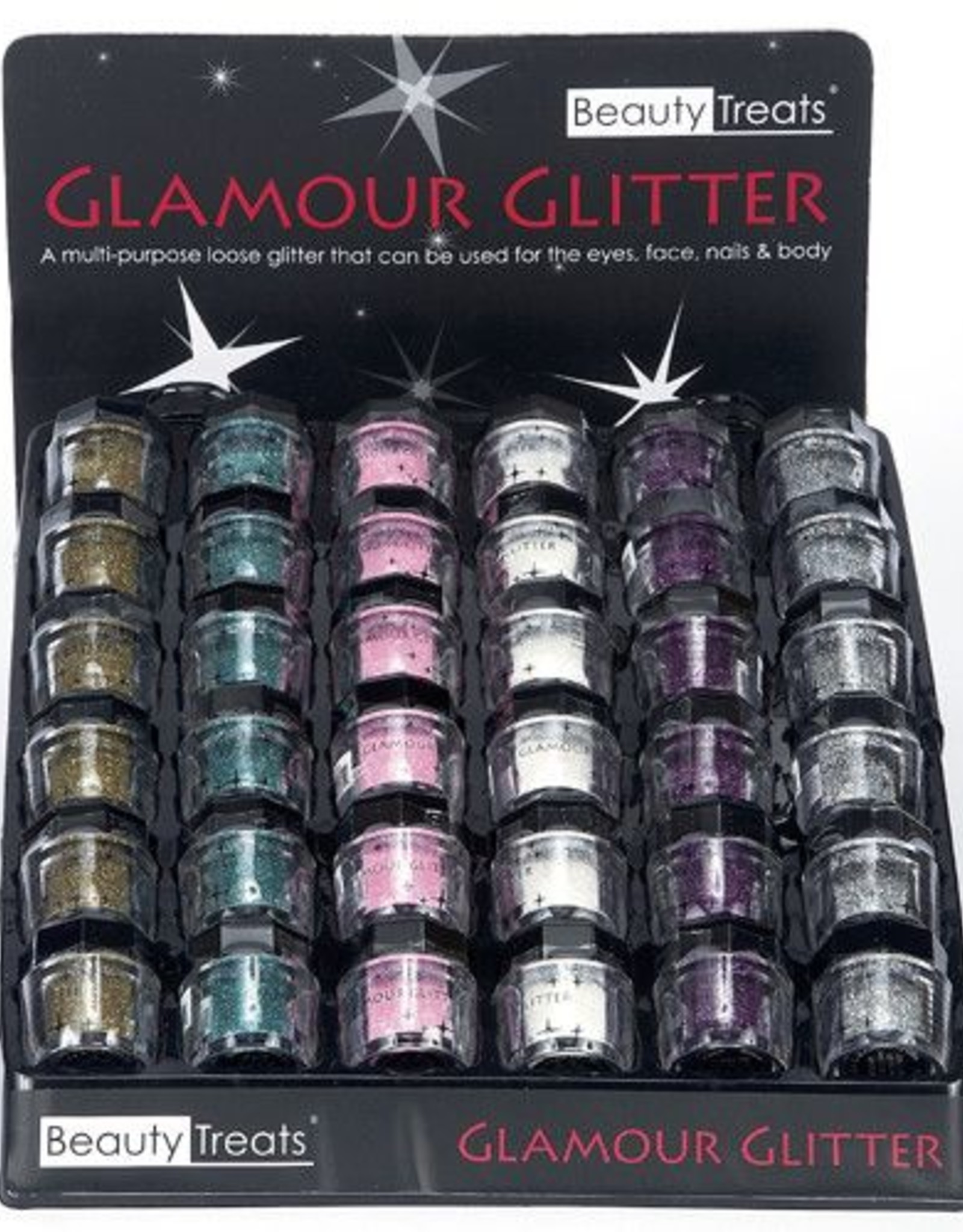 Beauty Treats 2504DB Glamour Glitter