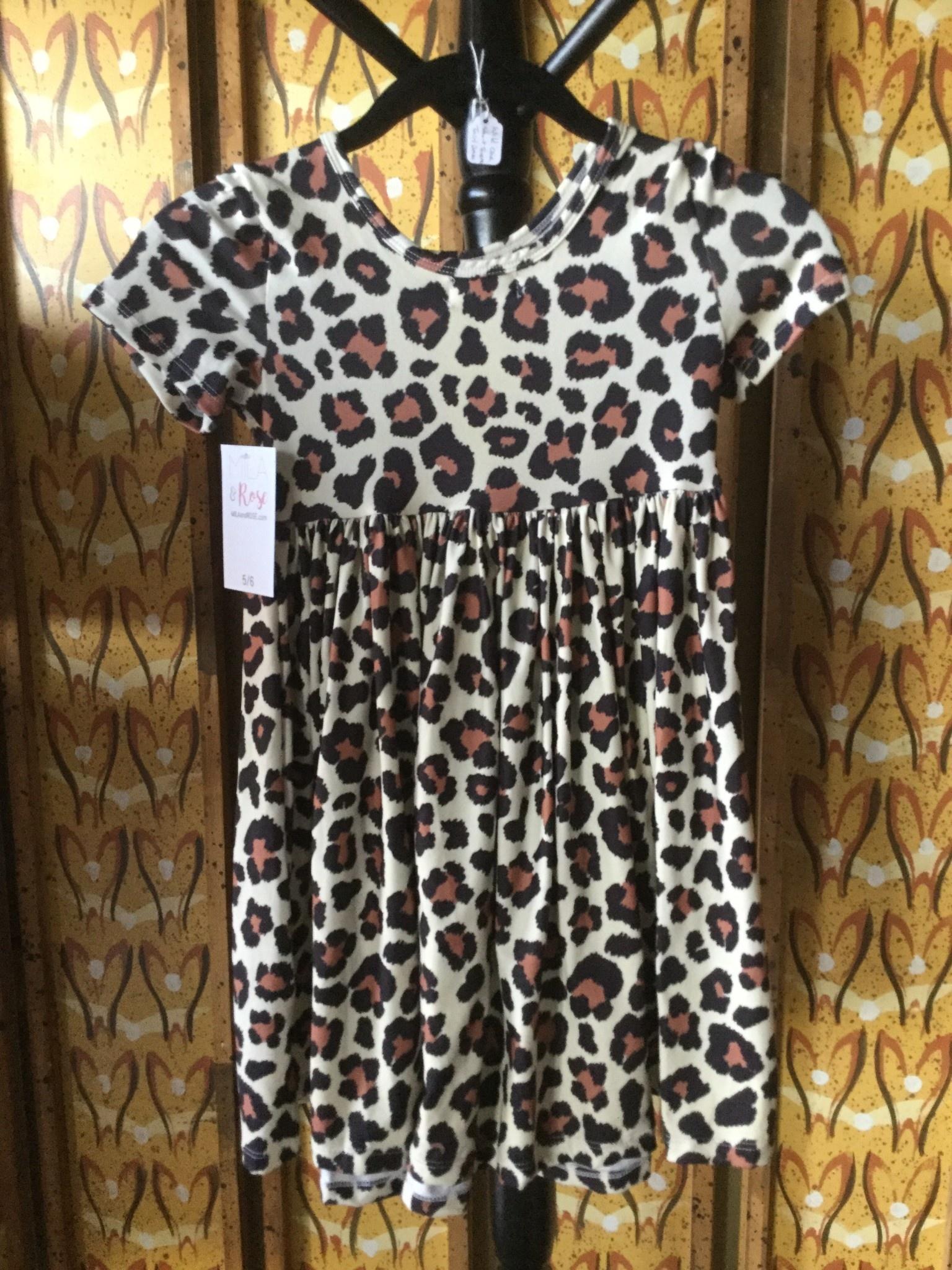 Mila & Rose Short Sleeve Wild One Twirl Dress