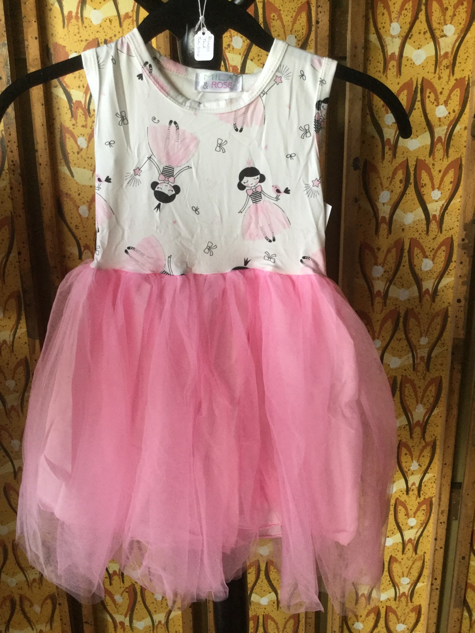 Mila & Rose Princess Tank Tutu Dress