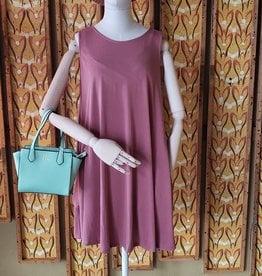 Before You Modal Sleeveless Dress w/Pockets