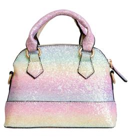 Mila & Rose Rainbow Glitter Girl's Purse