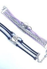 br78 Infinity, Love, DANCE, Live Your Dream Bracelet