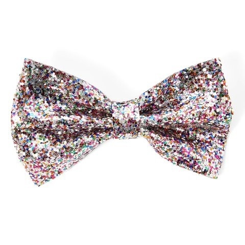 Scunci ha314 Glitter Alligator Clip Bow
