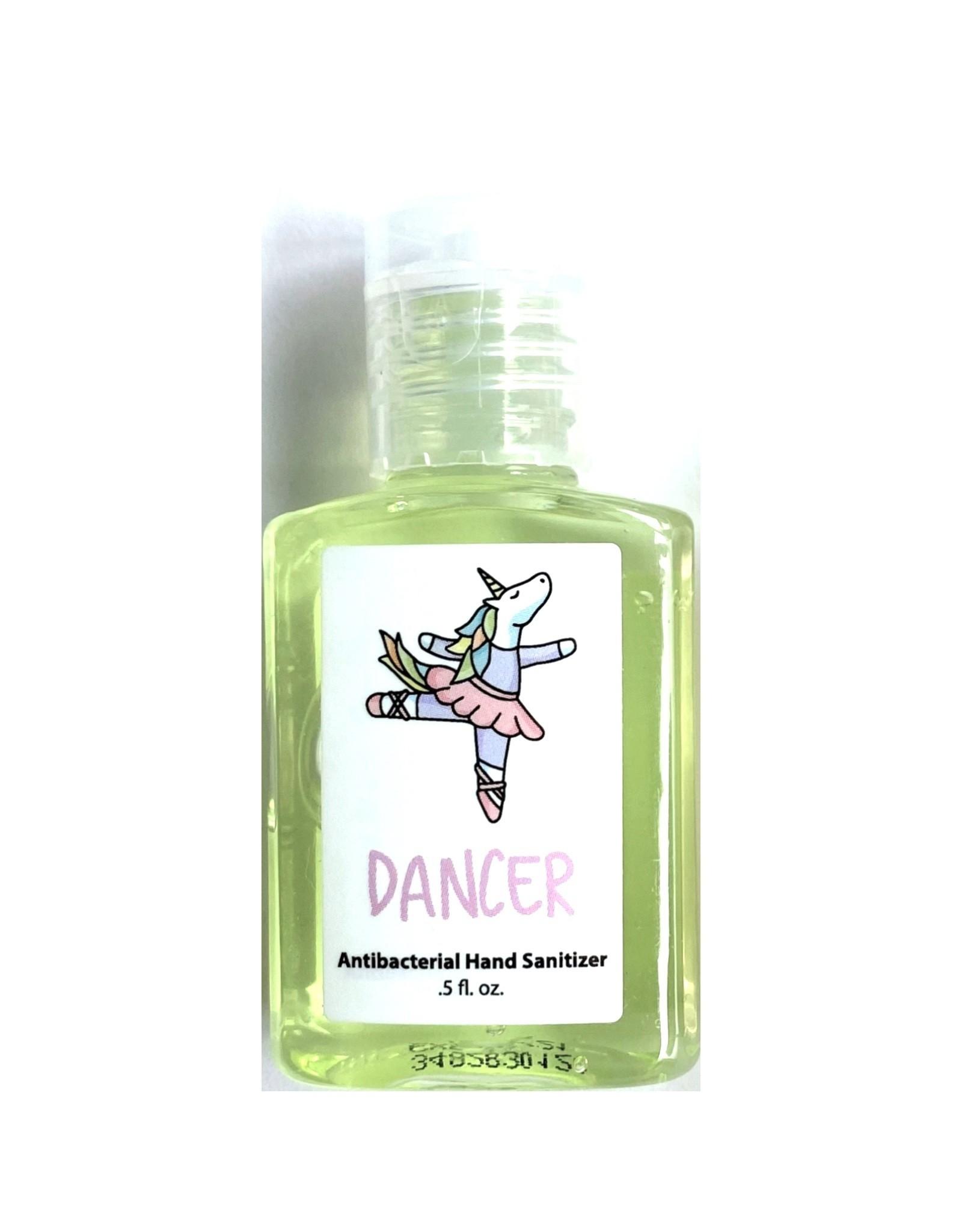Green Miss Unicorn Ballerina Hand Sanitizer