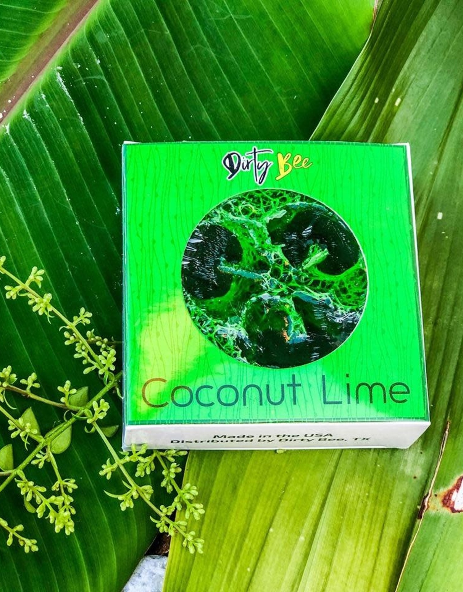 Dirty Bee Coconut Lime Loofah Soap