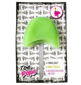 Ballet Rocks Toe Pops - Kiwi Green
