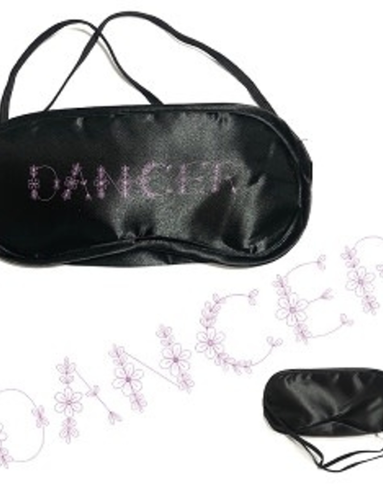 "CJ Merchantile g412 ""Dancer"" Silky Sleep Mask"