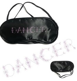 "CJ Merchantile g412 ""Dancer"" Silky Sleep Mask"
