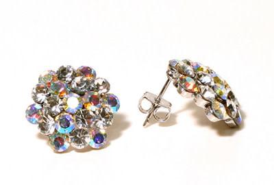 FH2 AZ0014 AB Cluster Earrings