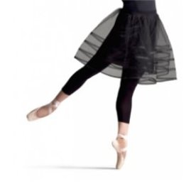Capezio 10730W Tutu Skirt - Black S
