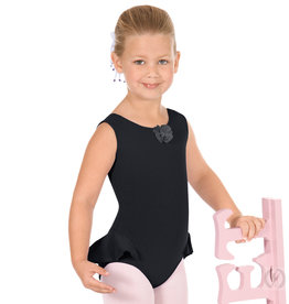 Eurotard 1703 Flutter Half Skirted Tank Leotard