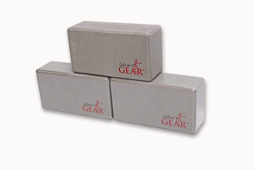 Glam'r Gear Glam'r Gear Non-Slip Yoga Block Set of 3