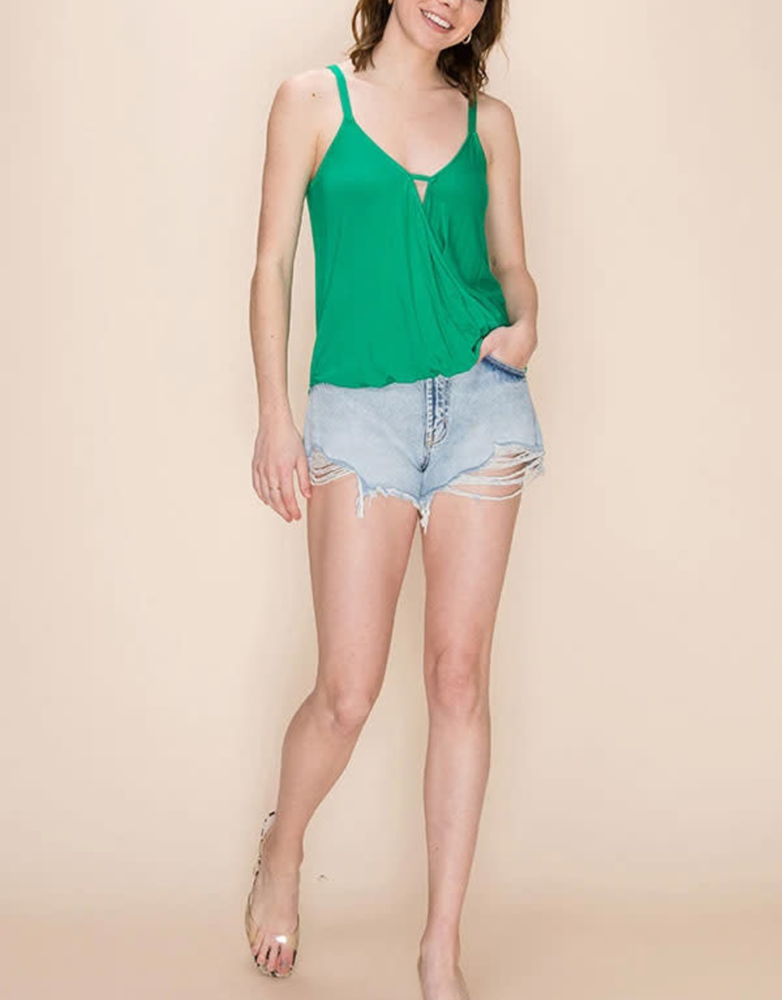 Favlux Surplice Cami Top