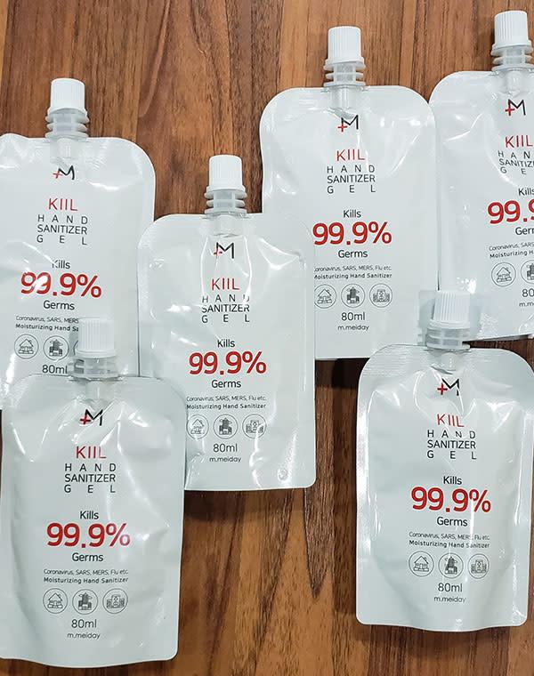 HYFVE Hand Sanitizer - Gel 80 ML Pouch