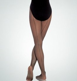 Body Wrappers C62 TotalSTRETCH® Seamed Fishnet Tights