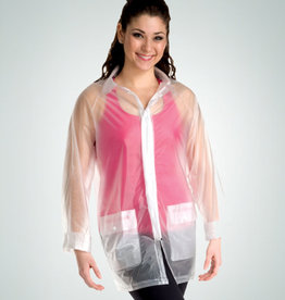 Body Wrappers R101 Clear Raincoat
