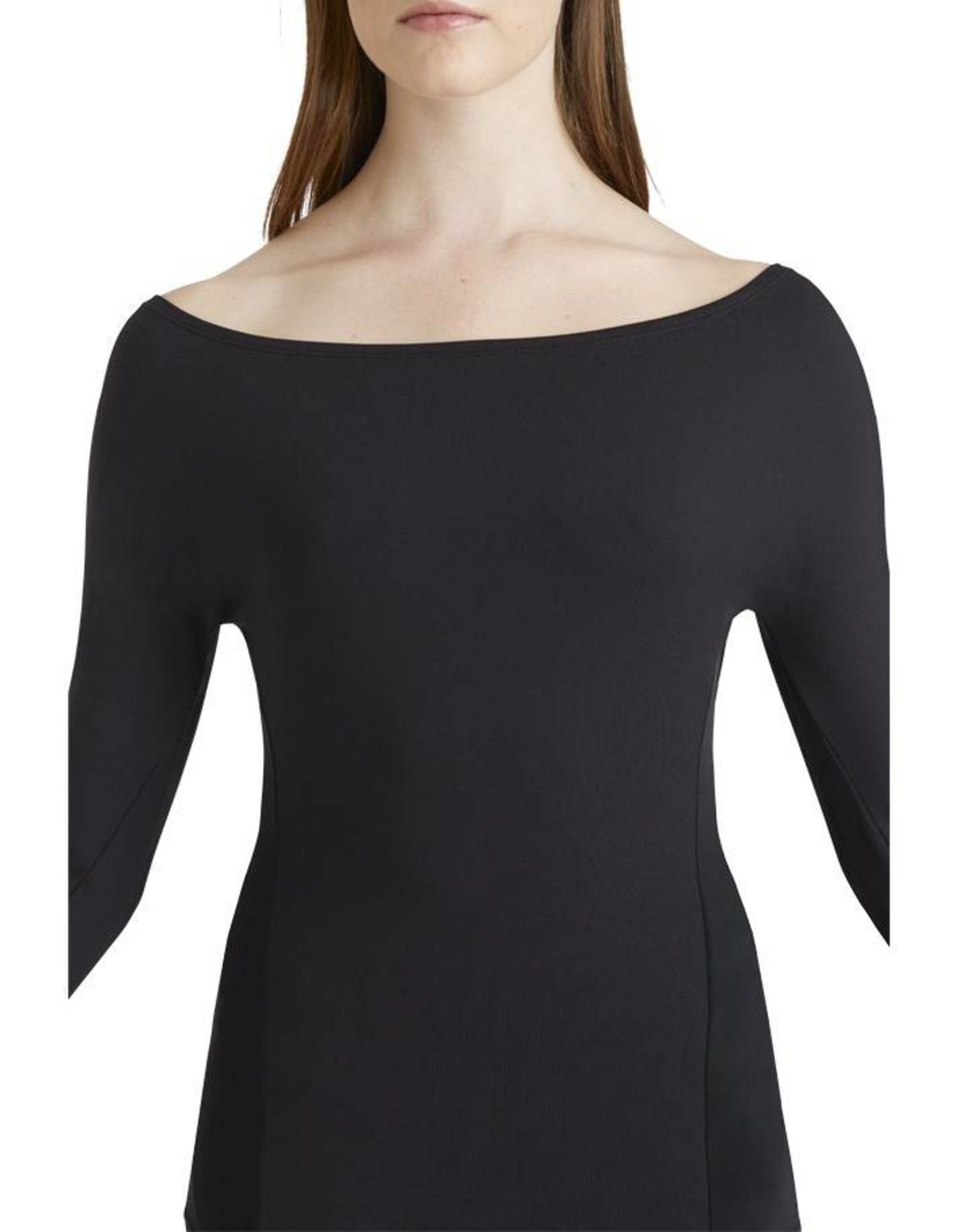 Capezio TC10903W Long Sleeve Top w/Sheer Inserts
