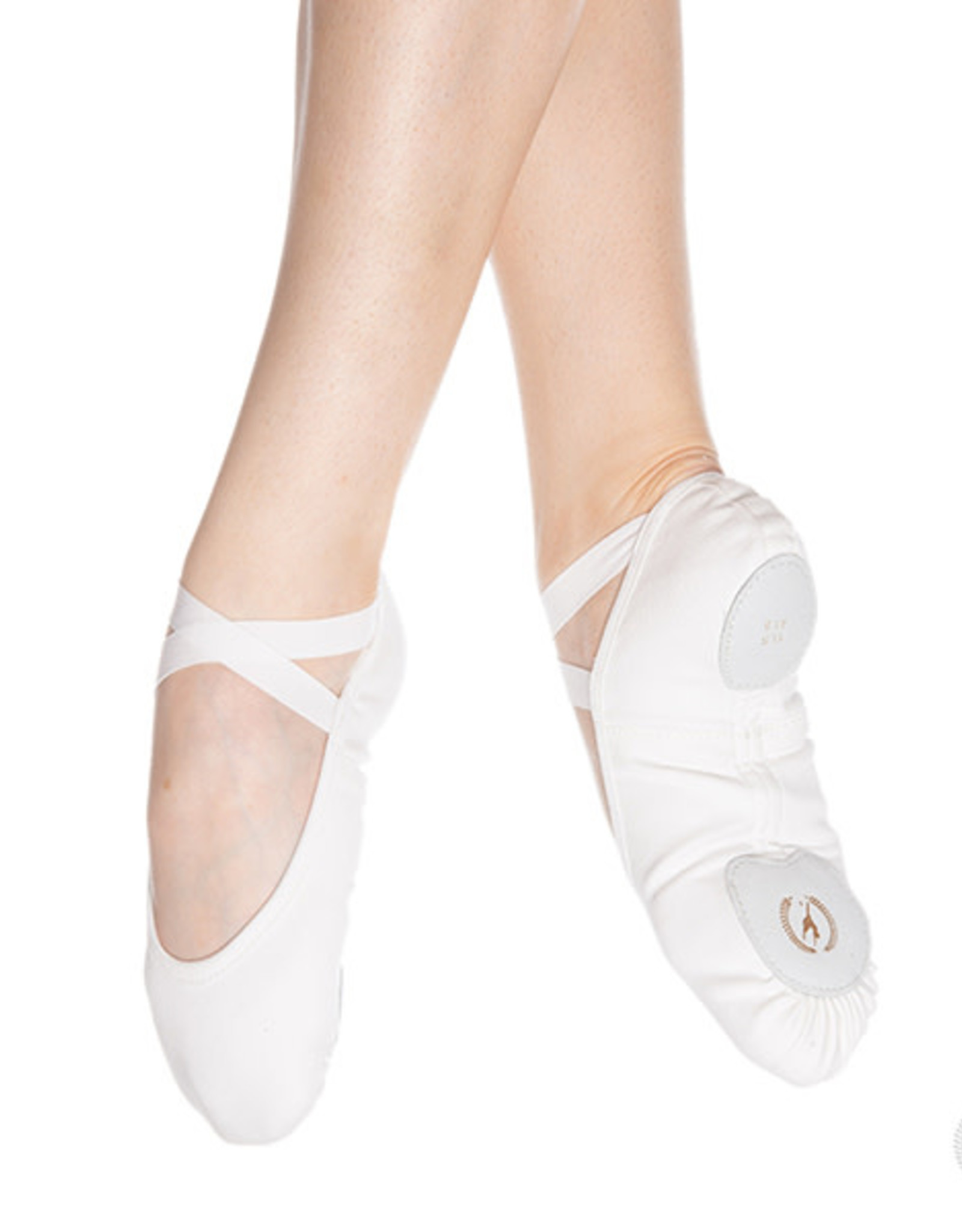 Eurotard A1004a Adult Assemblé Split Sole Canvas Ballet Shoes