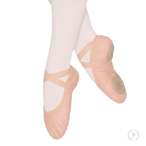 Eurotard A2004A Adult Coupé Leather Split Sole Ballet Shoe