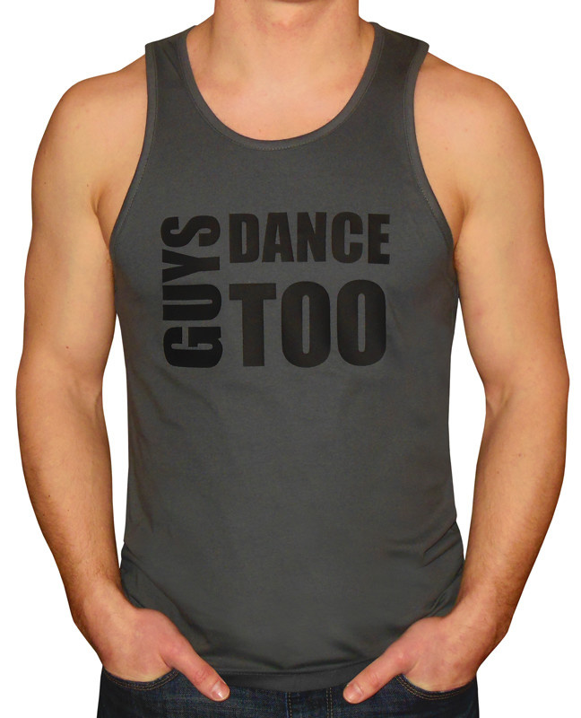 """Magnetic Impressions """"Guys Dance Too"""" Tank"""