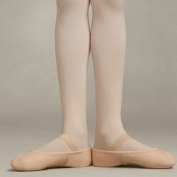 Capezio 205C Daisy Childrens Full Sole Leather Ballet Shoe