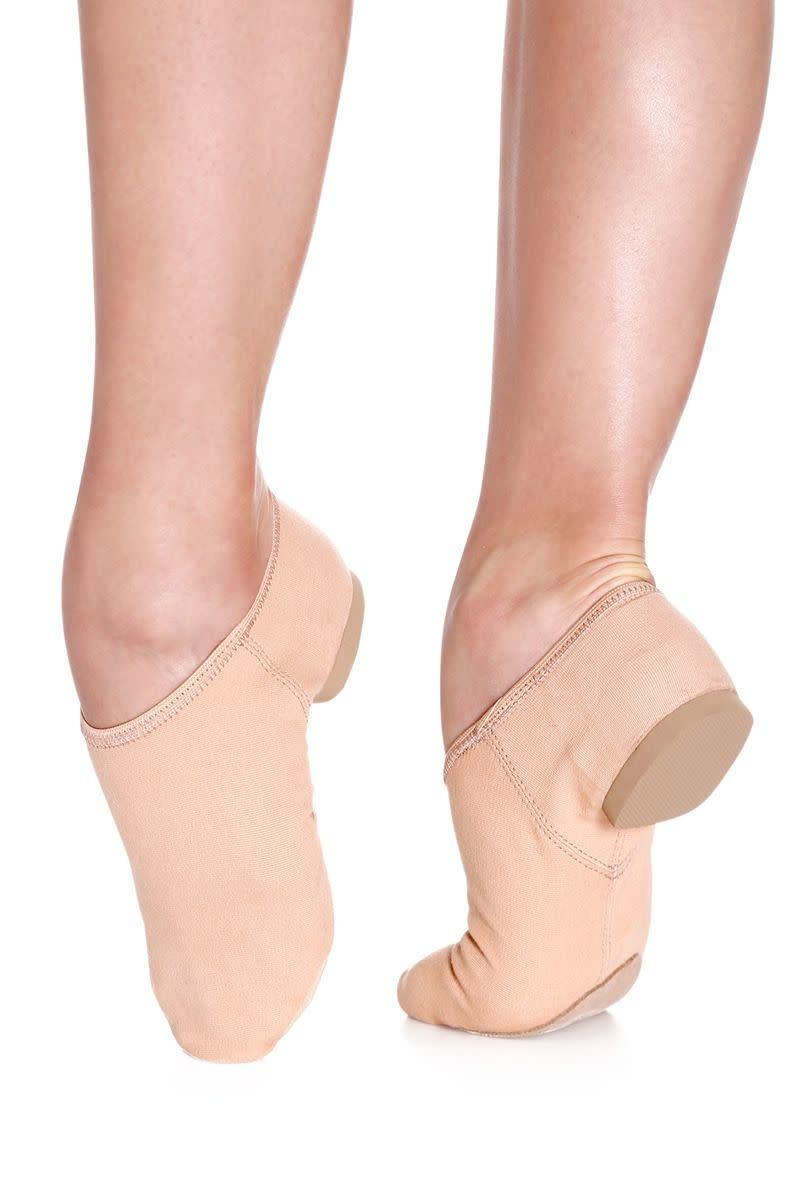 SoDanca JZ75L Adult Stretch Canvas Split Sole Jazz Shoe