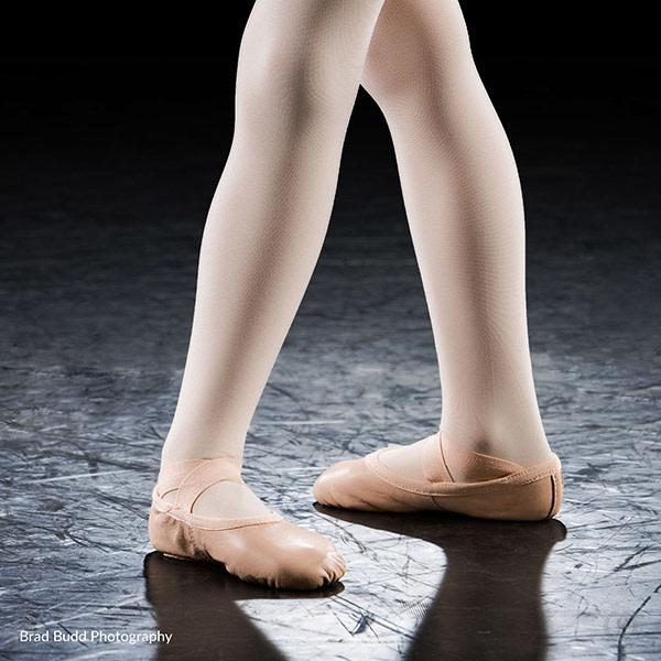 Eurotard A2011C Child Passé Full Sole Leather Ballet Shoe