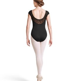 Bloch L8602 Elastic Yoke Cap Slv Leotard