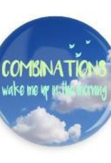 """B+ Printworks 750CC56 3"""" Mirror - Combinations Wake Me Up In The Morning"""