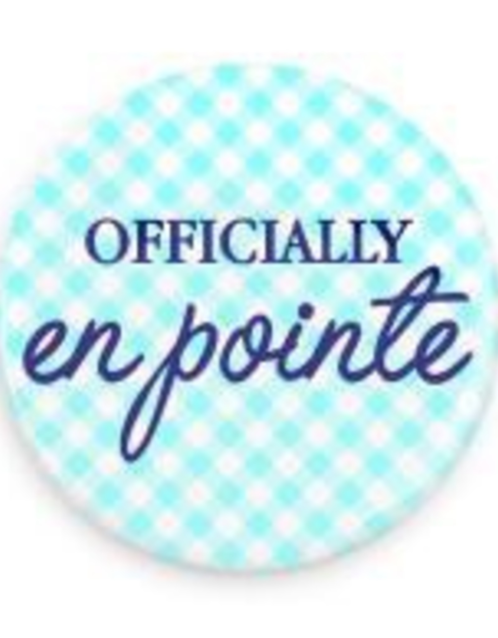 "B+ Printworks 750CC65 3"" Mirror - Officially en Pointe (Blue)"
