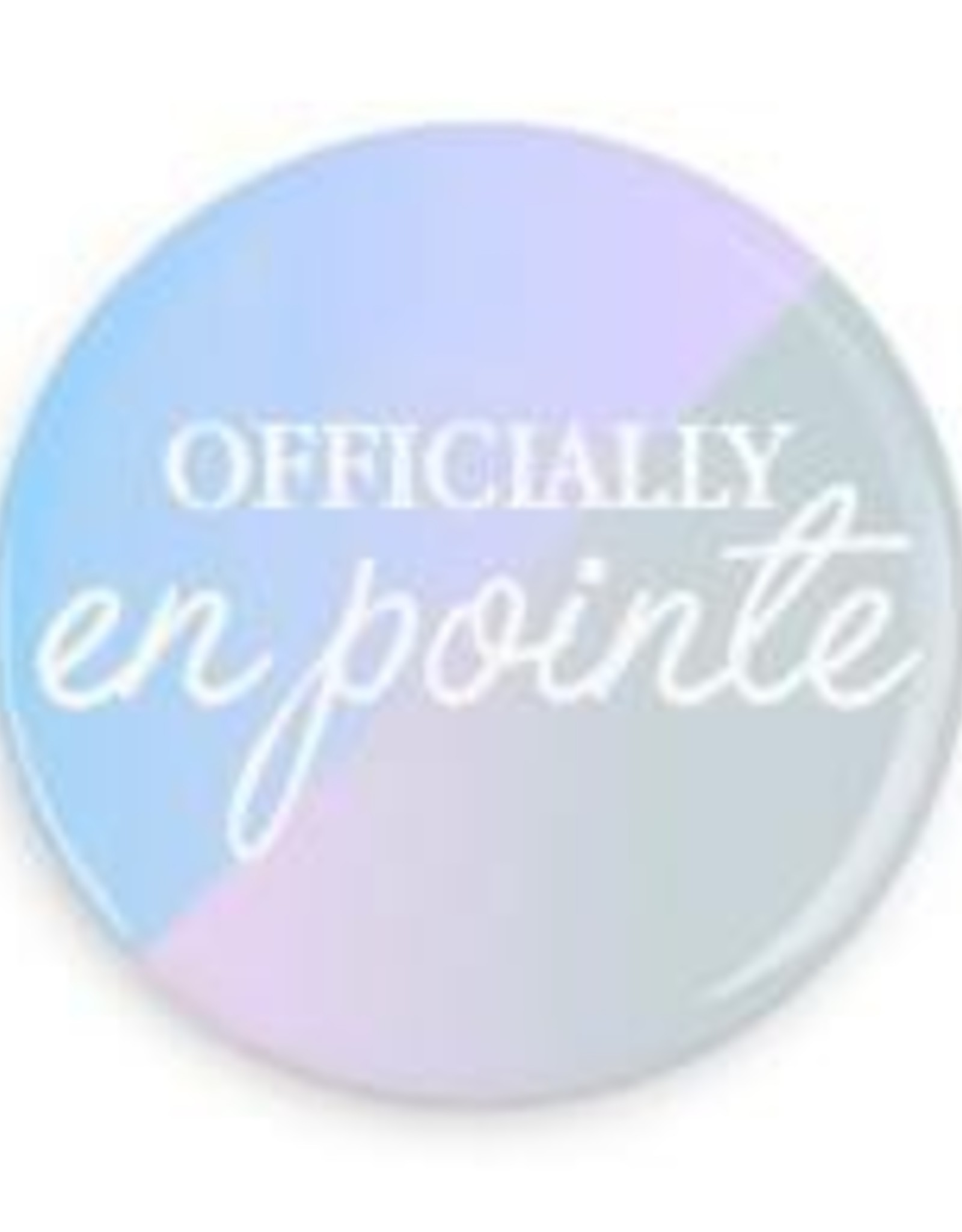 """B+ Printworks 750CC66 3"""" Mirror - Officially en Pointe (Soft colors)"""