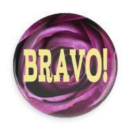 "B+ Printworks 750CC06 3"" Mirror - Bravo!"