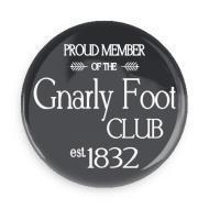 """B+ Printworks 750CC15 3"""" Mirror - Gnarly Foot Club"""