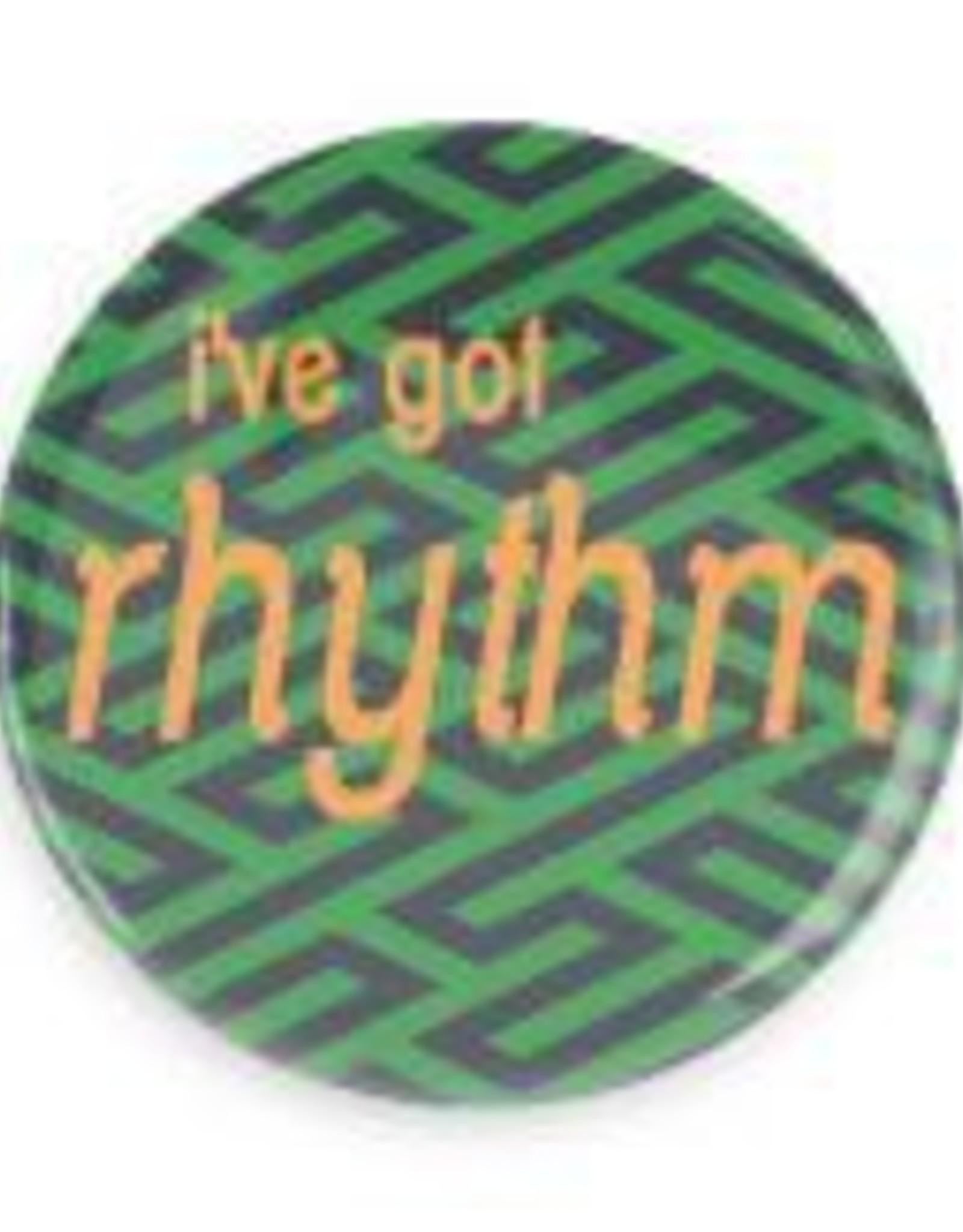"""B+ Printworks 750CC18 3"""" Mirror - I've Got Rhythm"""